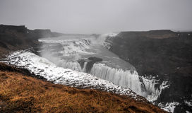 Gullfoss Waterfall, Iceland Royalty Free Stock Image