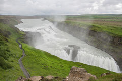 Gullfoss waterfall, Iceland Royalty Free Stock Images