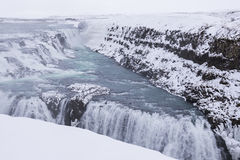 Gullfoss waterfall, Iceland Royalty Free Stock Photography
