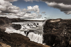 Gullfoss Waterfall - Iceland Stock Photos
