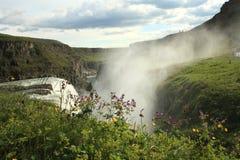 Gullfoss Waterfall, Iceland Royalty Free Stock Photo