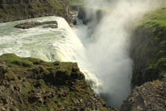 Gullfoss waterfall, Iceland Stock Photography