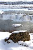 Gullfoss waterfall in Iceland Royalty Free Stock Photography