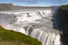 Gullfoss waterfall Royalty Free Stock Photos