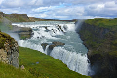 Gullfoss waterfall Stock Photography