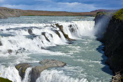 Gullfoss waterfall Royalty Free Stock Image