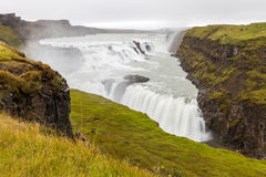 Gullfoss waterfall, South-West Iceland Royalty Free Stock Image