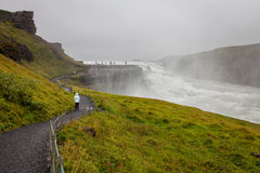 Gullfoss waterfall, South-West Iceland Stock Photography