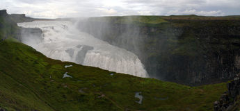 Gullfoss waterfall, southwest Iceland royalty free stock image