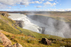 Gullfoss Waterfall Stock Photos