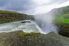The Gullfoss waterfall Stock Image