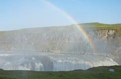 gullfoss wodospadu zdjęcie royalty free