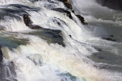 gullfossvattenfall Royaltyfria Foton