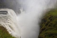 gullfossvattenfall Arkivfoton