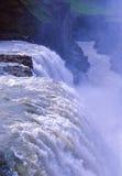 gullfossvattenfall Royaltyfri Fotografi