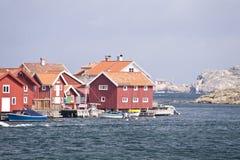 Gullholmen, Σουηδία Στοκ εικόνες με δικαίωμα ελεύθερης χρήσης