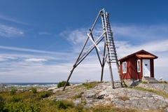 Gullholmen, Σουηδία Στοκ φωτογραφία με δικαίωμα ελεύθερης χρήσης