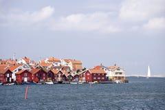 Gullholmen, Σουηδία Στοκ εικόνα με δικαίωμα ελεύθερης χρήσης