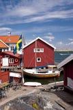 Gullholmen, Σουηδία Στοκ Φωτογραφία