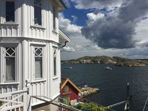 Gullholmen. Island on the west coast of sweden Royalty Free Stock Photography