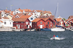 Gullholmen, Sweden Royalty Free Stock Images