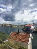 Gullholmen. On the Swedish West coast Royalty Free Stock Images
