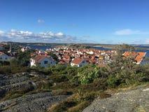 Gullholmen. View of Gullholmen Island on the Swedish West coast Stock Images