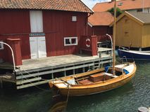 Gullholmen Stock Image