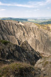 Gullies στους λόφους Imola Στοκ Εικόνα