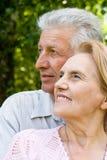 gullig åldring för par Arkivfoton