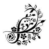 Gullig beståndsdel för blom- design Fotografering för Bildbyråer