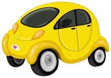 gullig bil stock illustrationer