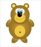 Gullig björn.   Royaltyfri Bild
