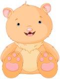 gullig björn royaltyfri illustrationer