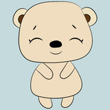 gullig björn Royaltyfri Foto