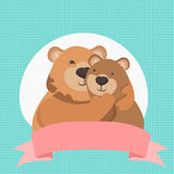 gullig björnkram Royaltyfri Bild