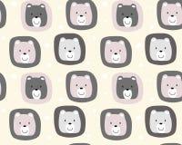Gullig björnmodellbakgrund Royaltyfri Bild