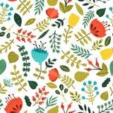 gullig blom- illustrationvektor för bakgrund Arkivbild