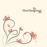gullig blom- illustrationvektor för bakgrund royaltyfri illustrationer