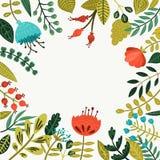 gullig blom- ram Arkivfoto