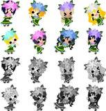 gullig brudtärna Royaltyfria Bilder