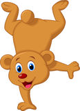 Gullig brunbjörntecknad film Royaltyfri Fotografi