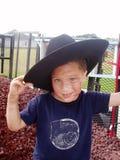 gullig cowboy Arkivbilder