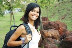 gullig deltagaretonåring fotografering för bildbyråer