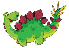 gullig dinosaur Royaltyfria Bilder