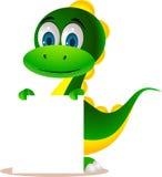 gullig dinosaur Royaltyfri Bild