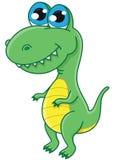 Gullig dinosaur Royaltyfri Fotografi
