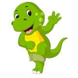 gullig dinosaur Arkivfoto
