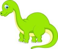 gullig dinosaur för tecknad film Arkivbilder