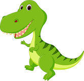 gullig dinosaur för tecknad film vektor illustrationer